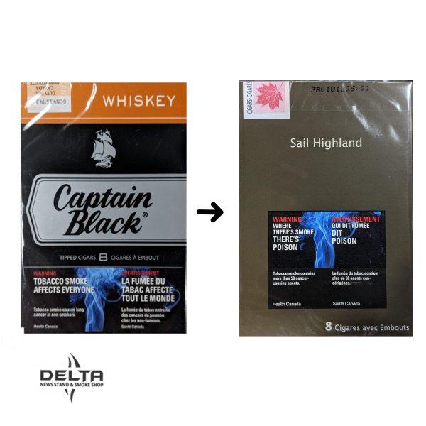 Captain Black Whiskey Highland